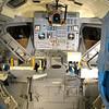 Inside the Lunar Excursion Module (LEM). Photo by Jim Lovett