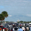 STS-129: Launch of the Space Shuttle Atlantis (including three monarch caterpillars) as viewed from just outside the VAB, 3.2 miles from Launchpad 39A. It was an awesome sight! Video by JCORNEJO, SHUTTLE HUGGER